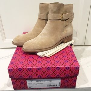 Tory Burch Brooke Perfect Sand Ankle Boot
